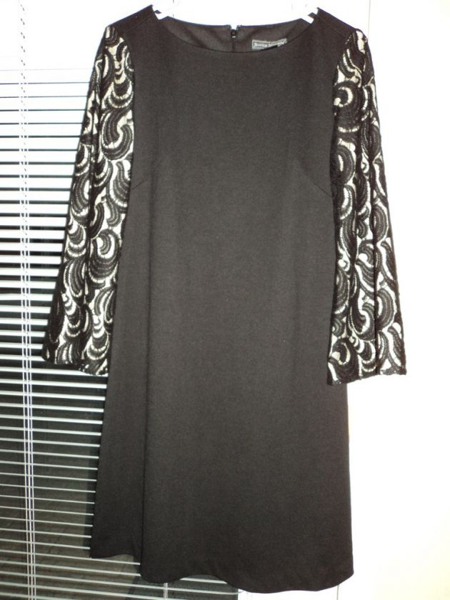 Womens Jessica Howard Gorgeous Black Lace Dress Sz 10
