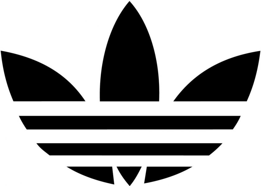 Adidas old school 5in skateboard snowboard decal sticker